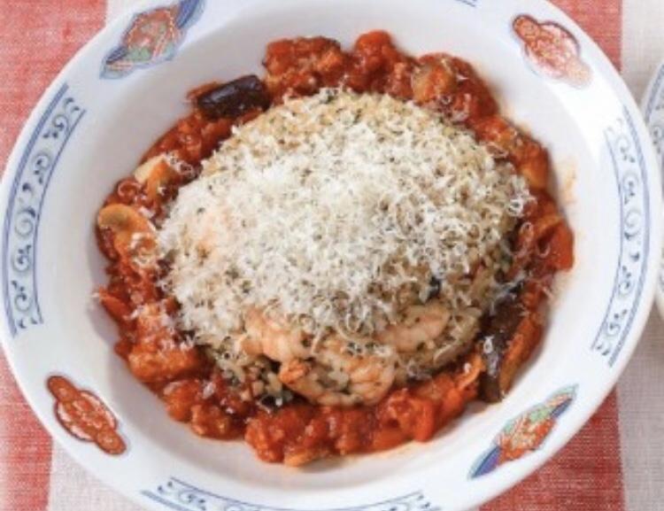 トマトソースのイタリアンチャーハン