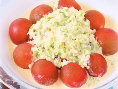 トマトの野菜タルタルソース