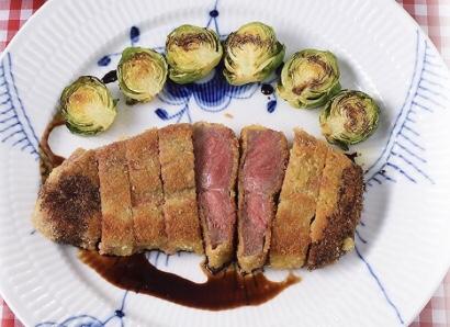 牛肉のコートレット バルサミコソース