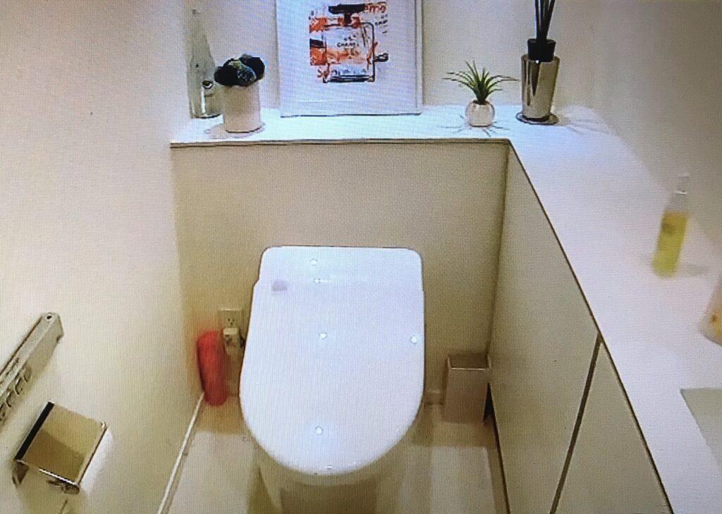 トレーナーAYAさん宅 トイレ