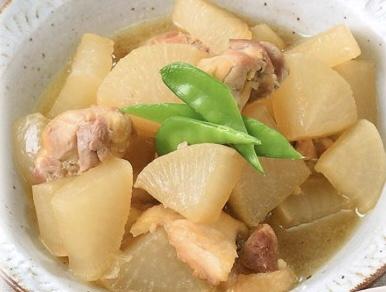 鶏大根の煮物