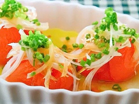冷凍トマトサラダ