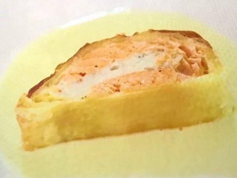 白身魚のムース パイ包み焼き